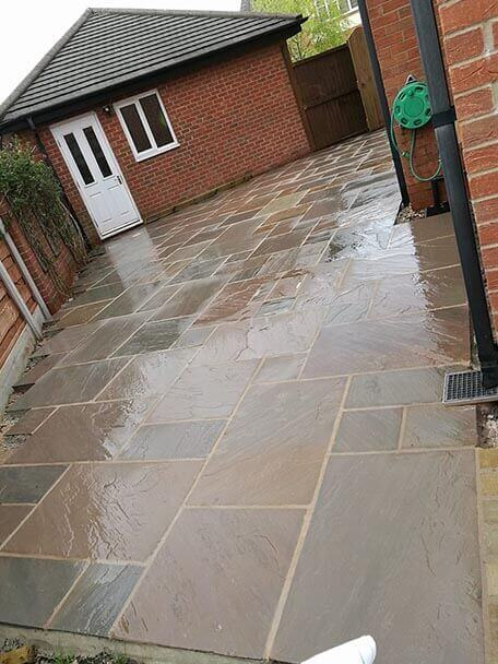 Taurus Landscapes Preston Landscapers Flagging and Paving