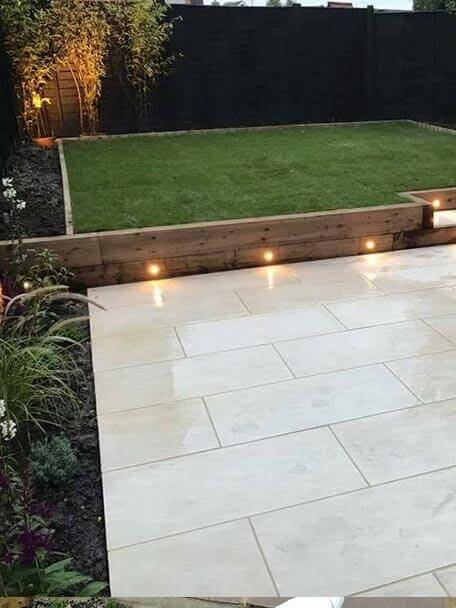 Taurus Landscapes Preston Landscapers External Lighting